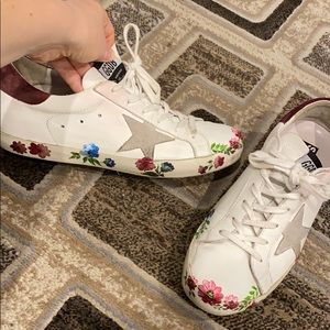 Authentic Golden Goose Hand painted sneaker